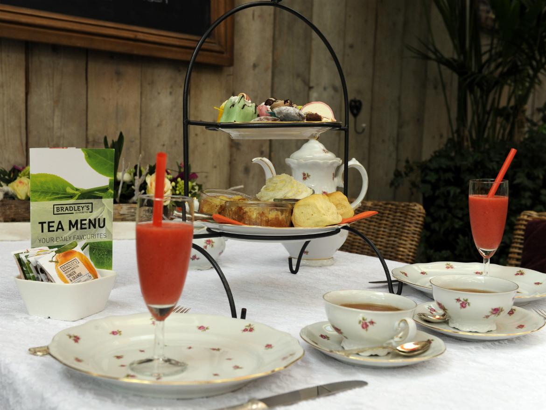 Gezellige high-tea tuincentrum nabij Breda