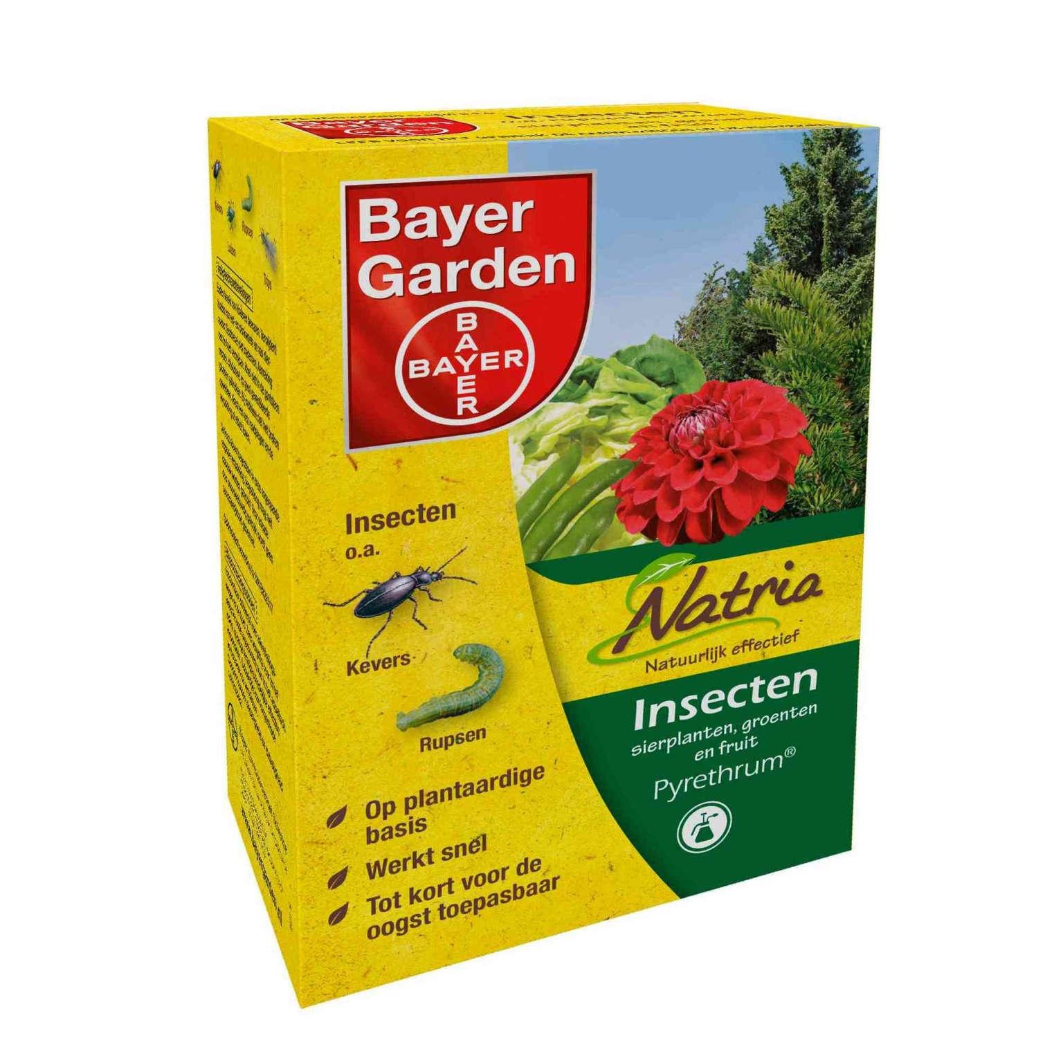 Bayer buxusmot bestrijding